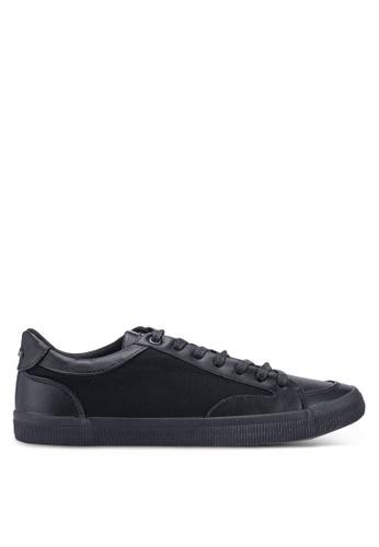 Burton Menswear London 黑色 休閒運動鞋 9639DSH380B1AFGS_1
