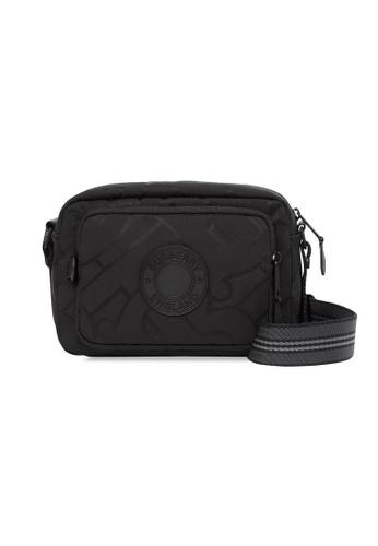 Burberry black Burberry Monogram Recycled Crossbody Bag in Black CE4E5ACD20CF7DGS_1