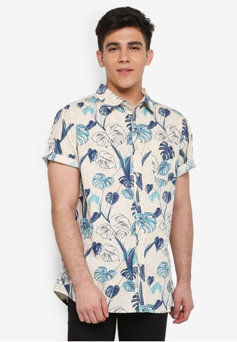 Cotton On multi Vintage Prep Short Sleeve Shirt 9158FAA9C0AD3FGS_1