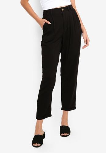Cotton On black Abi High Waist Pants 9F169AAFD8C048GS_1