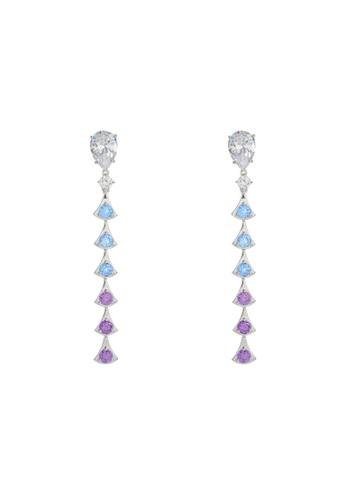 Arte Madrid blue and purple Arte Madrid Tropical Dream Twilight Glow Earrings 80070AC3AC7040GS_1