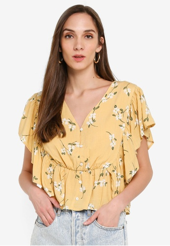 Mink Pink multi Maggie Floral Top 57D9AAA2B555C6GS_1