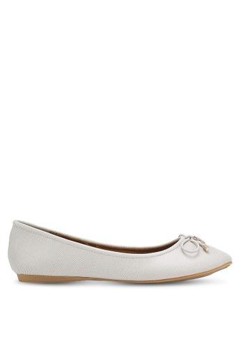 Bata 白色 Ballerina BA156SH0RCVIMY_1