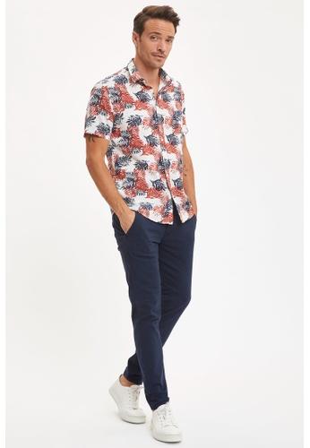DeFacto blue Beli Lace Slim Jogger Trousers 13C8CAA043FB87GS_1