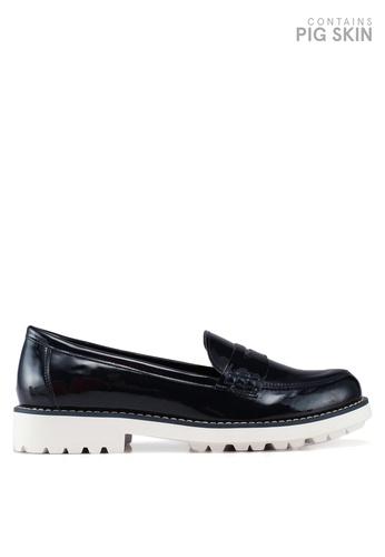 Keddo navy Jules Patent Loafers FDD4DSHDA1EE49GS_1