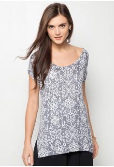 Glaze Stripe Casual Shirt