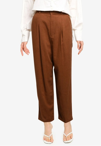 niko and ... brown Casual Woven Pants F74EAAA88DE02CGS_1