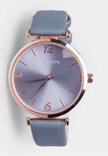Penshoppe blue Classic Watch B705FAC9D82621GS_1
