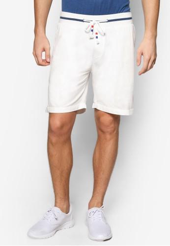 條紋褲頭抽繩六分褲, 服飾, esprit 鞋短褲
