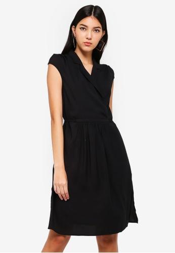 ZALORA black Collar Dress A3C61AA8E80B62GS_1