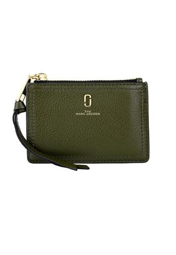 MARC JACOBS green Marc Jacobs Softshot Top Zip Multi Wallet M0015123 Balsam Fir E9509ACE521B96GS_1