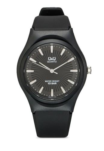 Vesprit 手錶Q86J019Y 樹脂圓框手錶, 錶類, 飾品配件