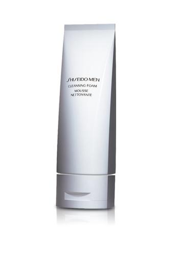 Shiseido grey Shiseido Men Cleansing Foam 125ml SH514BE0GMFRSG_1