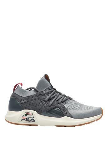 Fila grey RJ-Retro Jogger Shoes A775CSH544BF4FGS_1