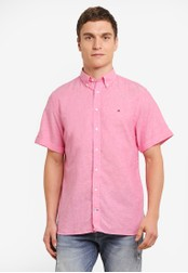Tommy Hilfiger pink WCC COTTON LINEN S/S CF2 TO729AA0GAMRSG_1