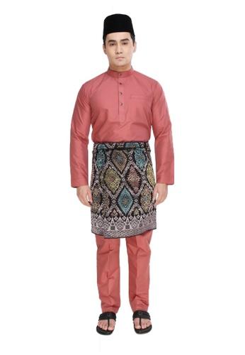 Amar Amran pink Baju Melayu Raja Sehari 4C7F4AAE17E3D7GS_1