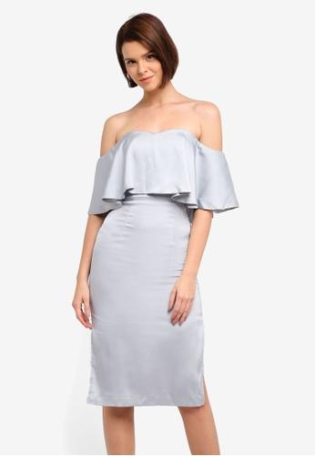 JARLO LONDON silver Nirvana Dress B2FE1AACEDD9F7GS_1