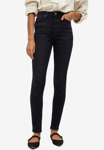 Mango grey Soho High Waist Skinny Jeans A2F68AA82DF119GS_1
