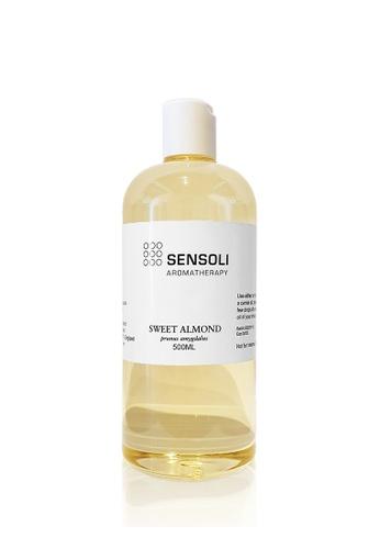 Sensoli Aromatherapy SENSOLI Aromatherapy UK - ALMOND (Sweet) Oil 500ML FEDFEBEC298E0FGS_1