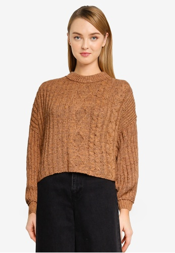 Free People 褐色 On Your Side Sweater 5F753AACAAE996GS_1
