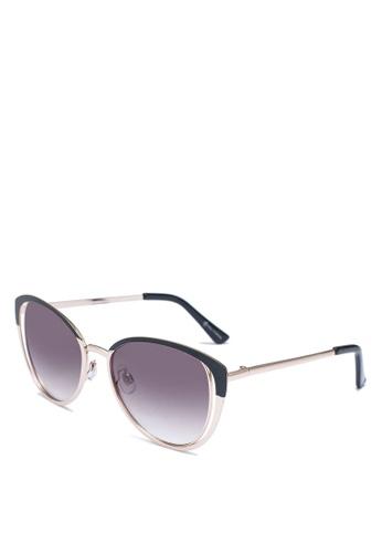 Call It Spring black Kyrie Cat Eye Sunglasses 8C3C7GLA3E8A30GS_1