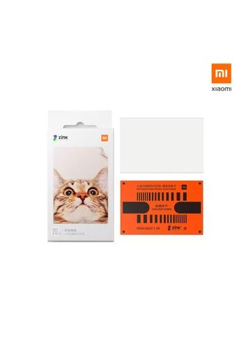 Xiaomi white Xiaomi Mi Portable Photo Printer Paper (20pcs) 626A4HL73B984DGS_1