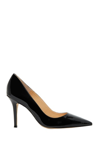 Nina Armando black Leah Patent Leather Stiletto Heel NI342SH0FV9CSG_1