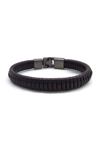 Her Jewellery black Alvie Bracelet 479BDAC63FE9E8GS_1