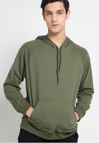 Tolliver green Pull Over Hoodies 88624AA1B533C4GS_1