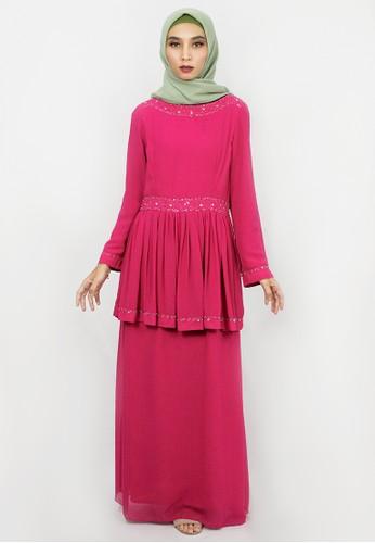 INA PRIYONO pink GAMIS NABITA Pink by Ina Priyono 507D9AA5E0B540GS_1