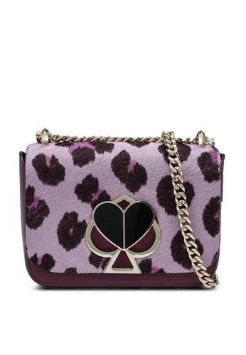 kate spade new york purple Nicola Haircalf Small Shoulder Bag (cv) B7537ACCD1C0C3GS_1