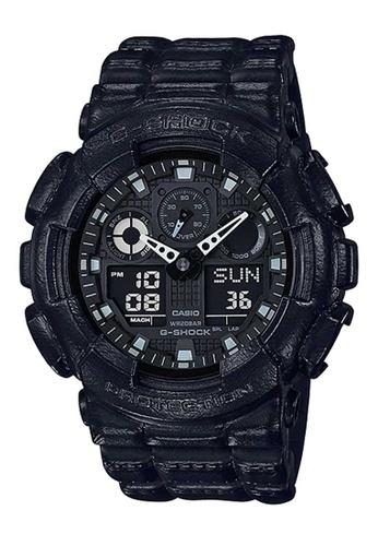 CASIO black Casio G-shock Black Resin Watch C8F9BACF1944BEGS_1