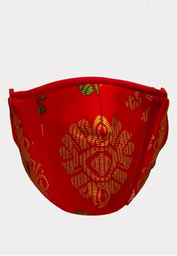 Masker Ferry Sunarto FS Classic Tenun Merah 3EA4EES2D51CD0GS_1