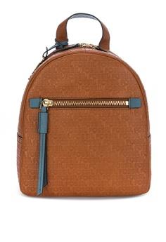 74de02e7c4cb9 Fossil brown Megan Mini Backpack Bag ZB7697231 43B83AC2724BBEGS_1