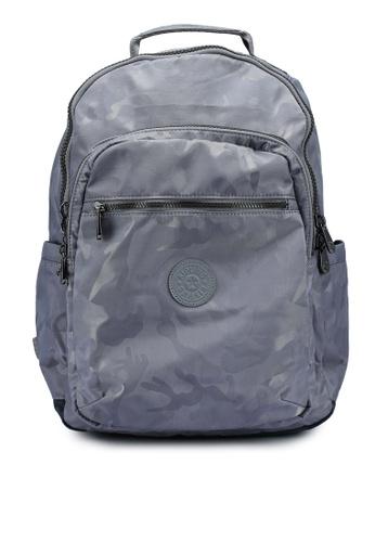 Kipling grey Seoul Grey Camo Jq Backpack DF403ACC1F2BA8GS_1