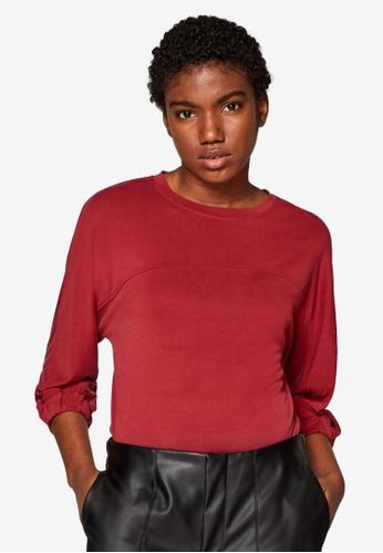 ESPRIT red Long Sleeve T-Shirt CC2B0AAD71A5A4GS_1