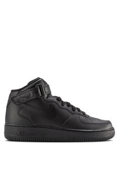 821a16bd76fa Nike black Men s Nike Air Force 1 Mid  07 Shoes 3BAA6SH5075A2FGS 1