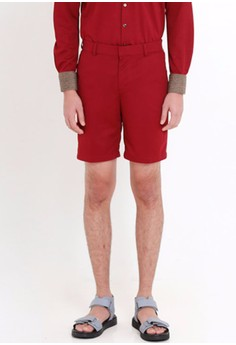 [PRE-ORDER] Tailored Shorts with Side and Back Pockets