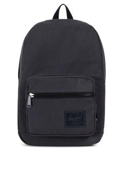 9bd7651ddb Herschel black Pop Quiz Cotton Canvas Backpack HE958AC0KA32PH 1