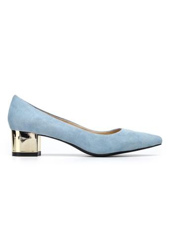 Byford blue Maypole 4cm Mid Heels 2C9AFSH64B86B1GS_1