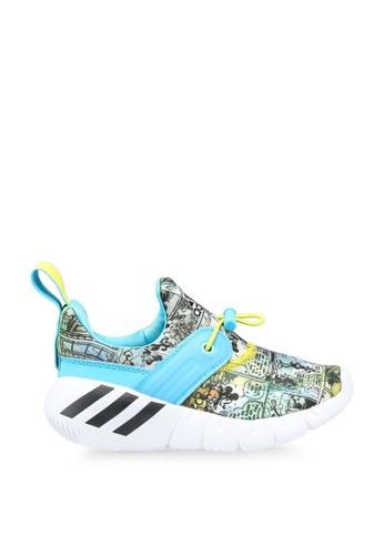 Adidas 白色 rapidazen mickey mouse shoes 39BE4KS1F08EBFGS_1