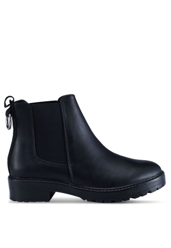 ONLY 黑色 質感靴子 1EFF8SHB4016D0GS_1