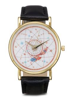 Universe Coloured Strap Watch