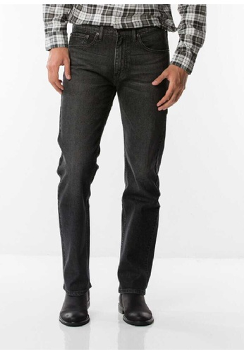 Levi's black Levi's 505 Regular Fit Jeans DFDDFAA7E64AD3GS_1