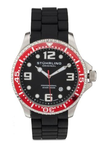 Stuhrling Original black Stuhrling Aquadiver 675.02SET Watch AAA24ACA0DB4C5GS_1