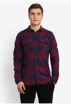 Superdry-Milled Flannel 襯衫