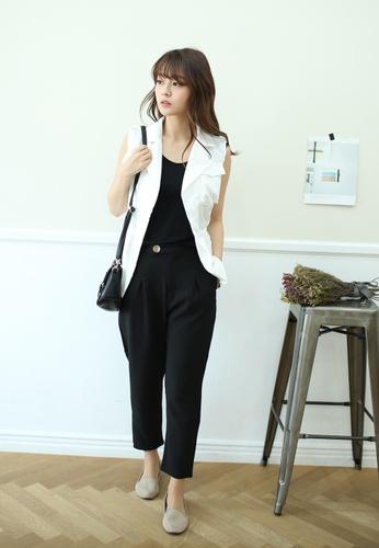 Shopsfashion white Amber Vest Blazer  SH656AA48UJVSG_1
