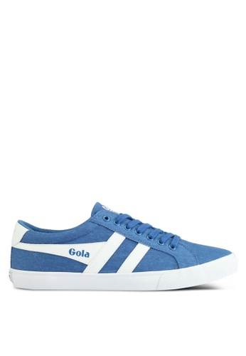 Gola white and blue Varsity Twill Sneakers 0A155SH40F7A7FGS_1