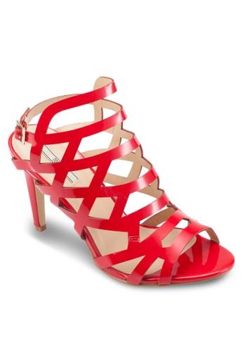 多帶鏤空尖頭高跟涼esprit 衣服鞋, 女鞋, 魚口鞋