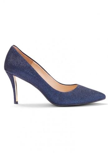 Shu Talk 藍色 大熱閃爍高貴性感高跟鞋 SH544SH099Y8TW_1